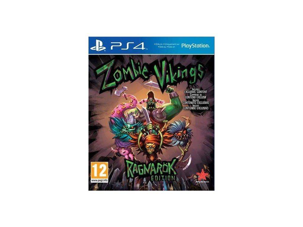 PS4 Zombie Vikings Ragnarök Edition