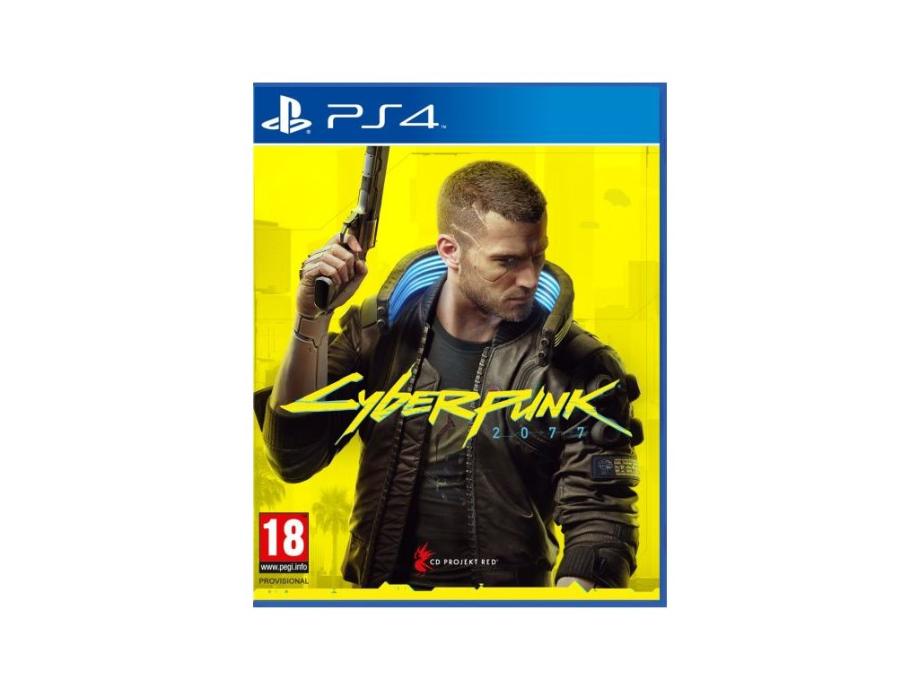 PS4 Cyberpunk 2077 CZ