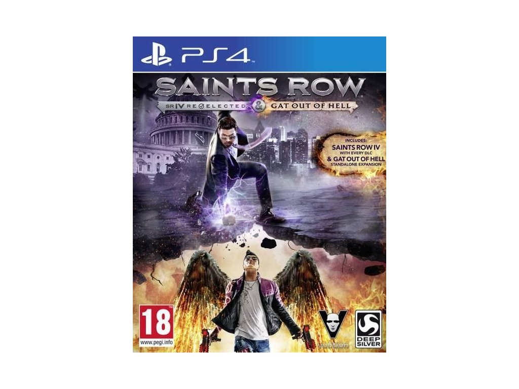 PS4 Saints Row 4