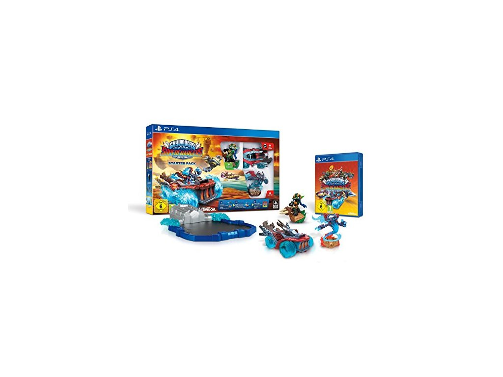 PS4 Skylanders SuperChargers Starter Pack