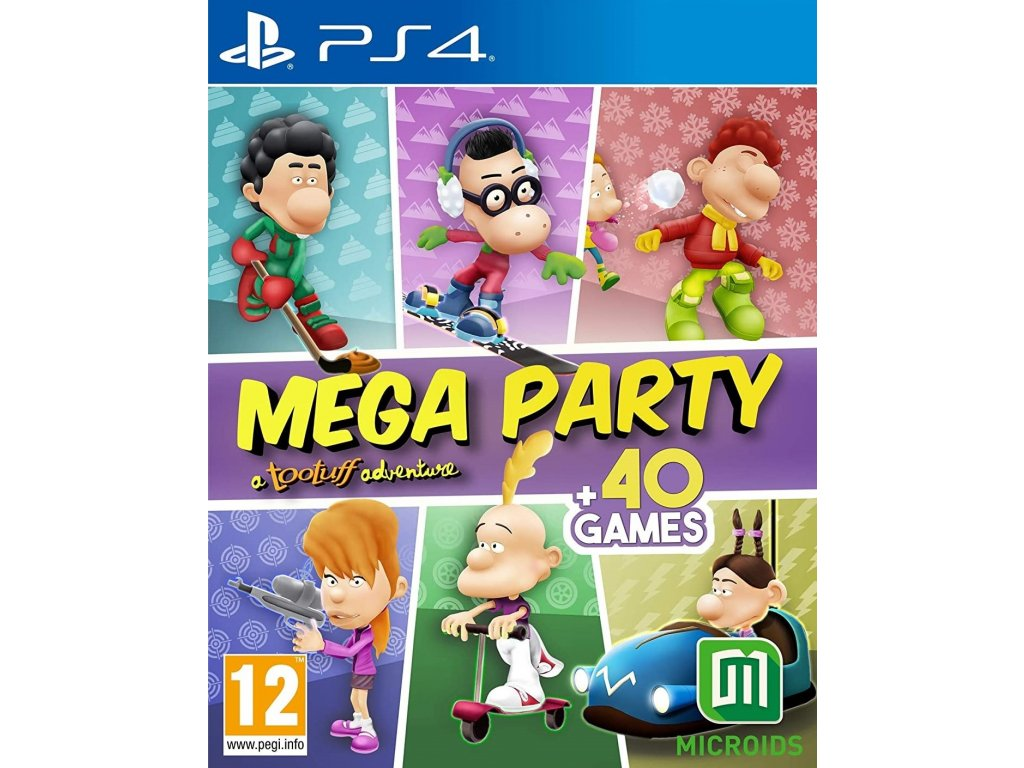 PS4 Mega Party a Tootuff adventure