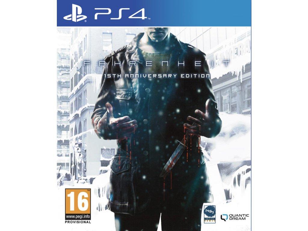 PS4 Fahrenheit 15th Anniversary Edition