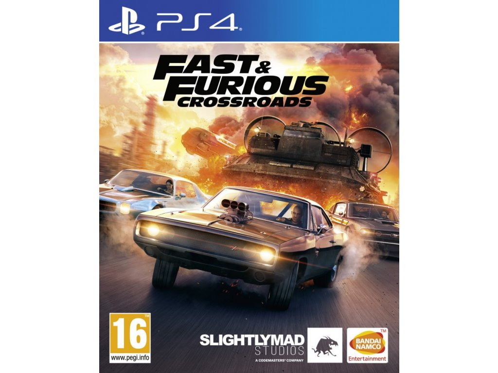 PS4 Fast and Furious Crossroads