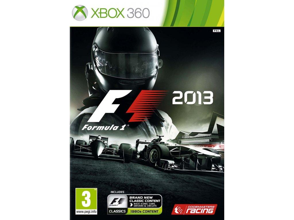 X360 F1 2013