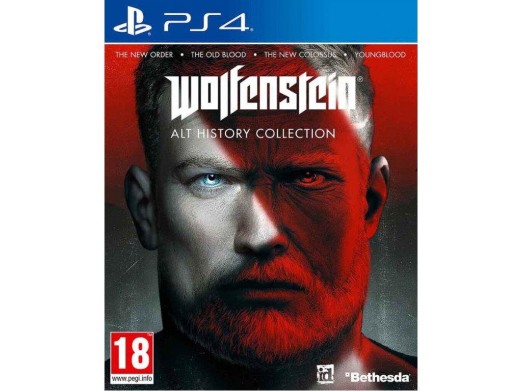 PS4 WOLFENSTEIN ALT HISTORY COLLECTION Nové