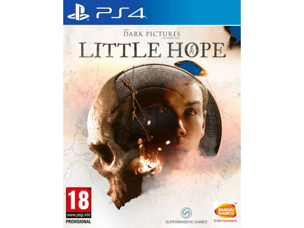 PS4 The Dark Pictures Anthology Little Hope