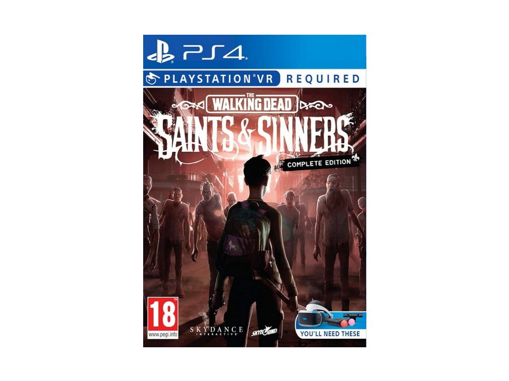 PS4 The Walking Dead Saints and Sinners The Complete Edition