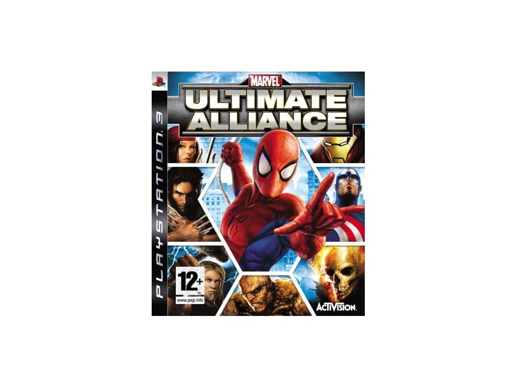 PS3 Marvel Ultimate Alliance