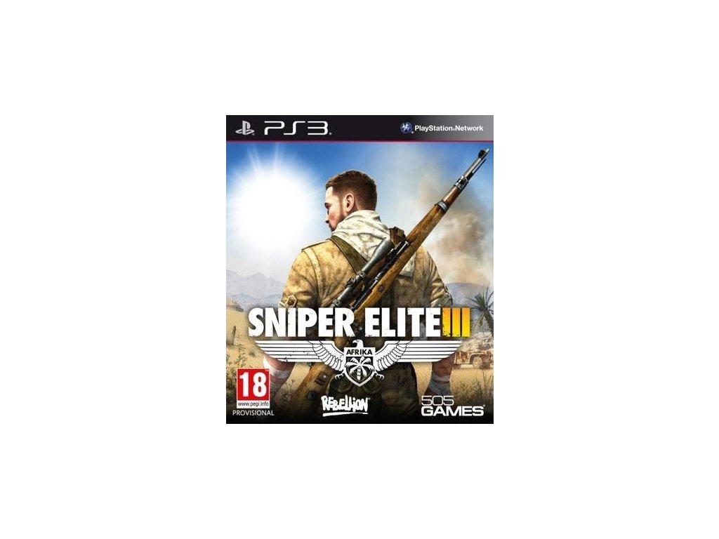 PS3 Sniper Elite 3
