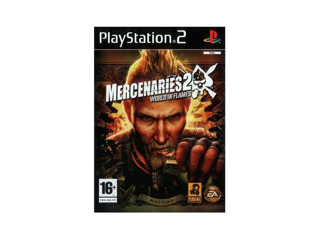 PS2 Mercenaries 2 World in Flames