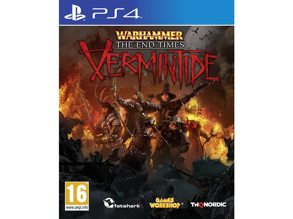 PS4 Warhammer End Times Vermintide