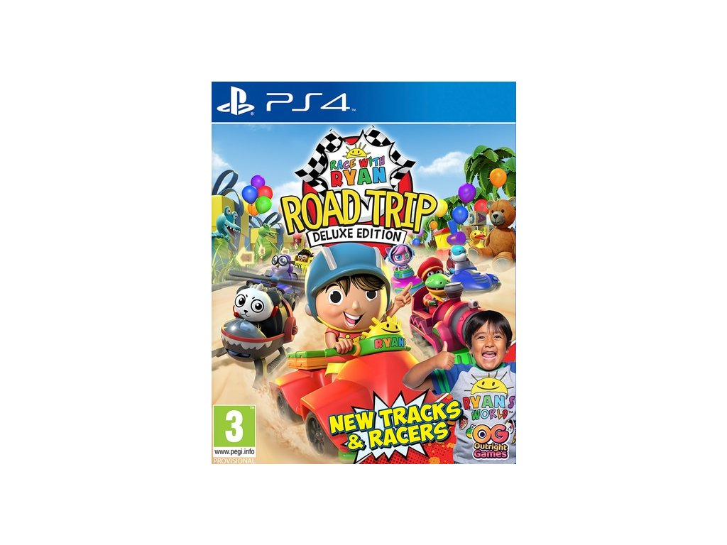 PS4 Race With Ryan Road Trip Deluxe Edition