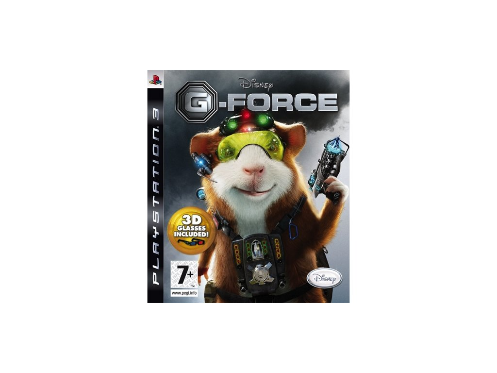 PS3 Disney G-Force