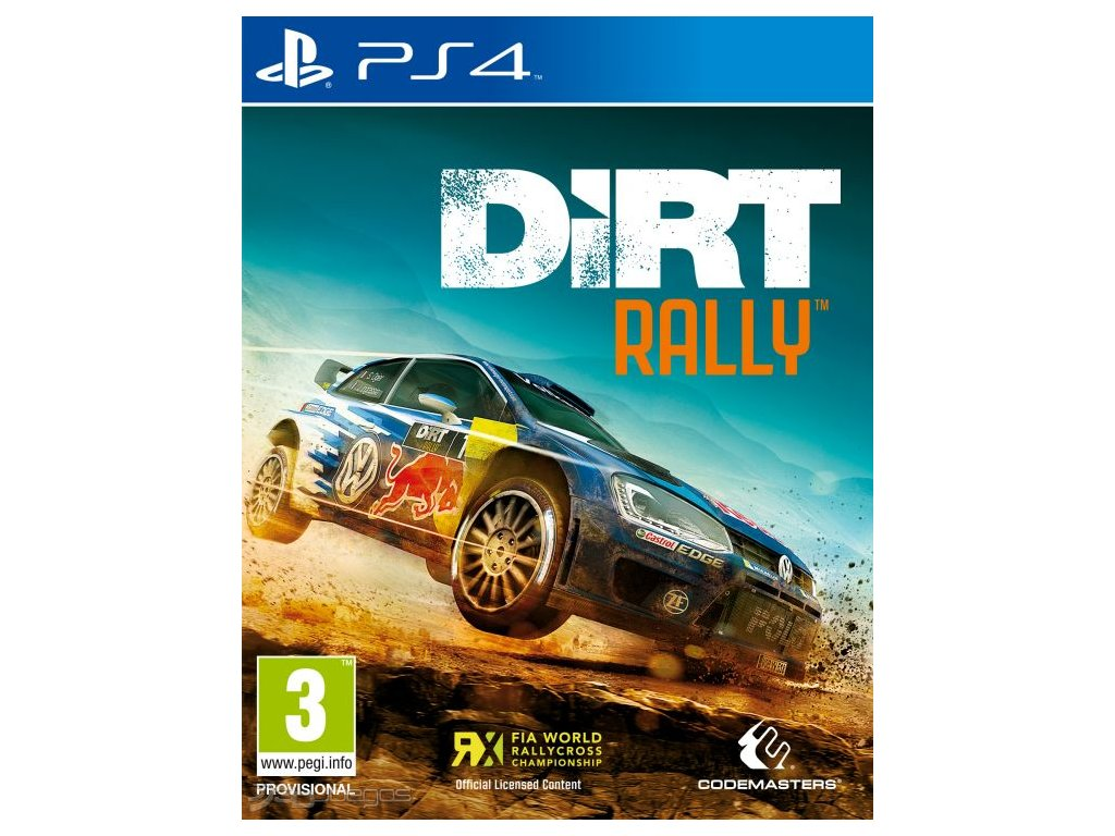 PS4 Dirt Rally Legend Edition