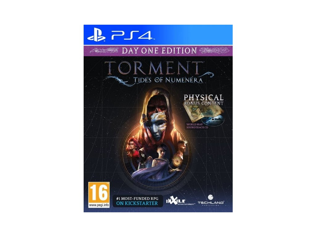 PS4 Torment Tides of Numenera Day 1 Edition