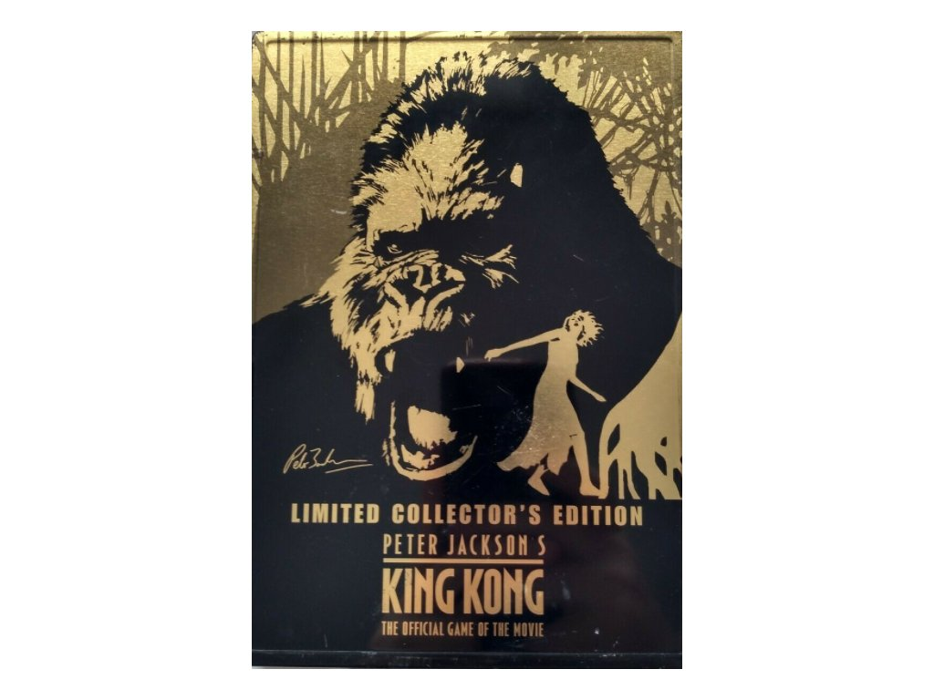 PS2 King Kong Limited Collectors Edition Steelbook