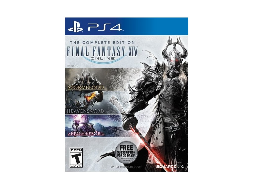 PS4 Final Fantasy XIV The Complete Edition