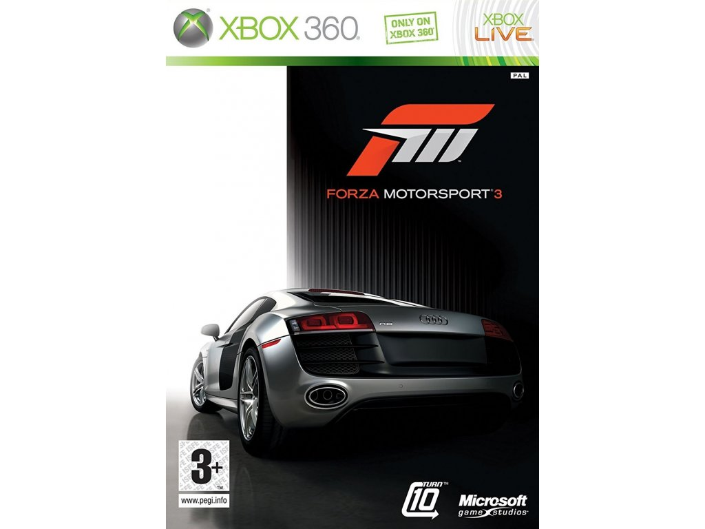 X360 Forza Motorsport 3 CZ