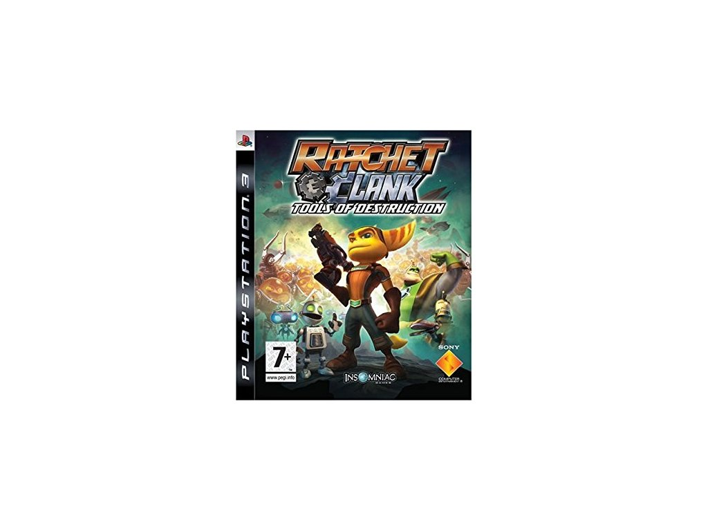 PS3 Ratchet and Clank Tools of Destruction
