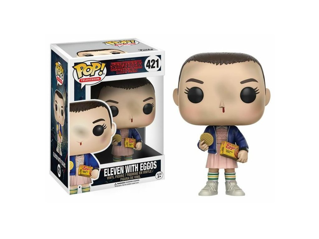 Merch Funko Pop! 421 Television Stranger Things Eleven With Eggos