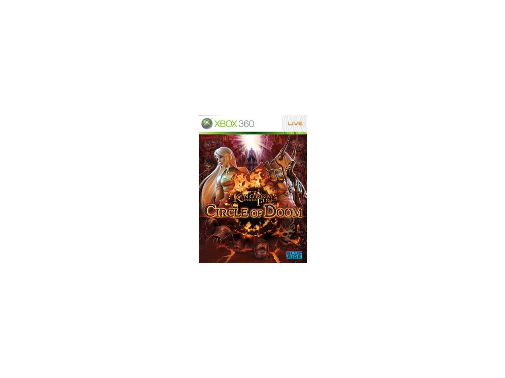 Kingdom Under Fire Circle of Doom Xbox 360 Game Cover