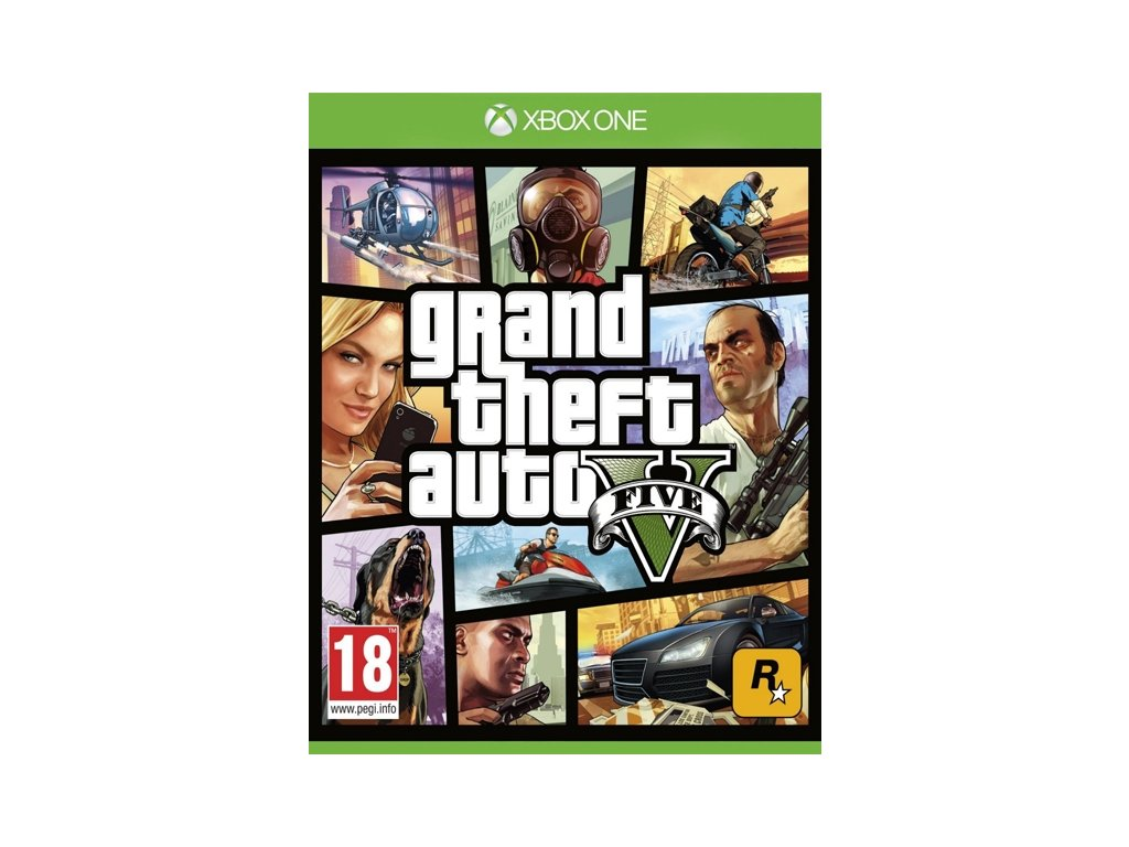 XONE Grand Theft Auto V