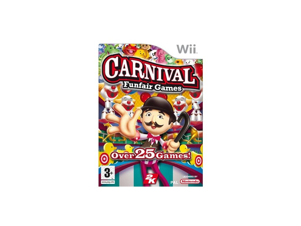 Wii Carnival FunFair Games
