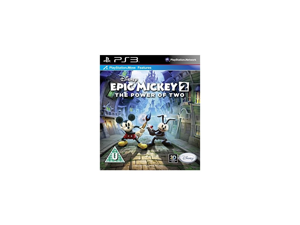 PS3 Disney Epic Mickey 2 The Power of Two