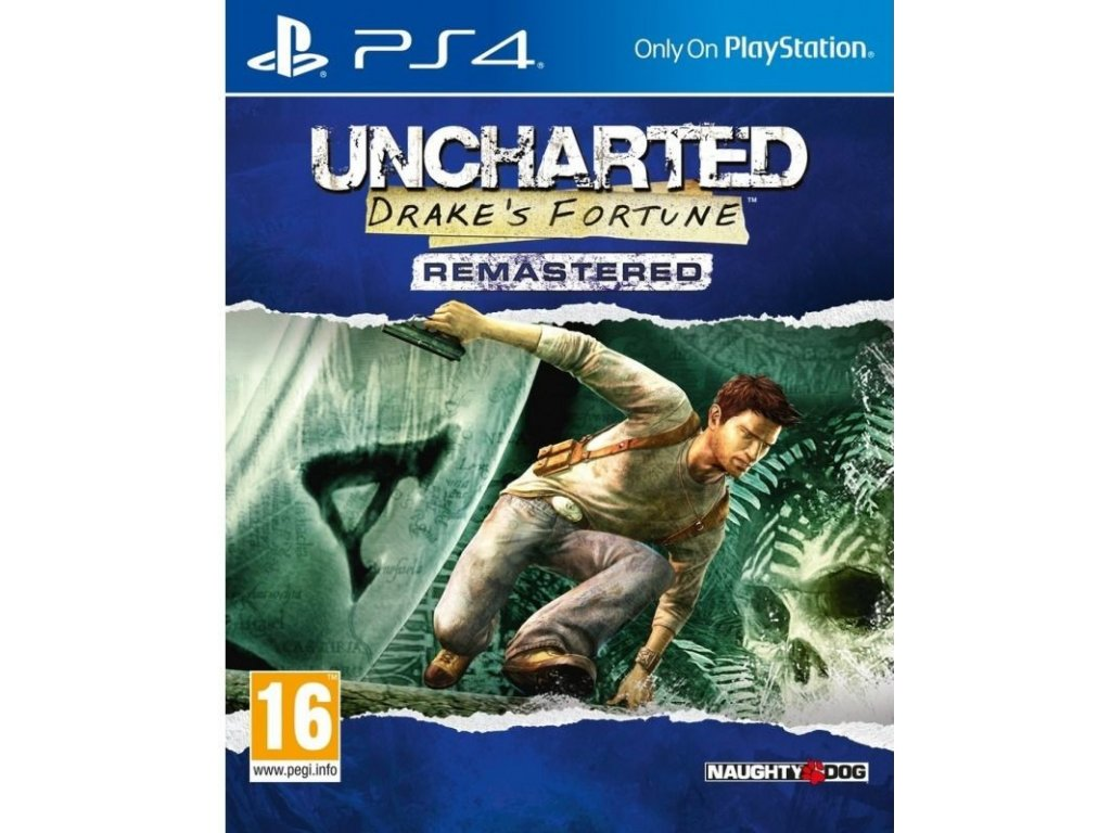 PS4 Uncharted Drakes Fortune Remastered