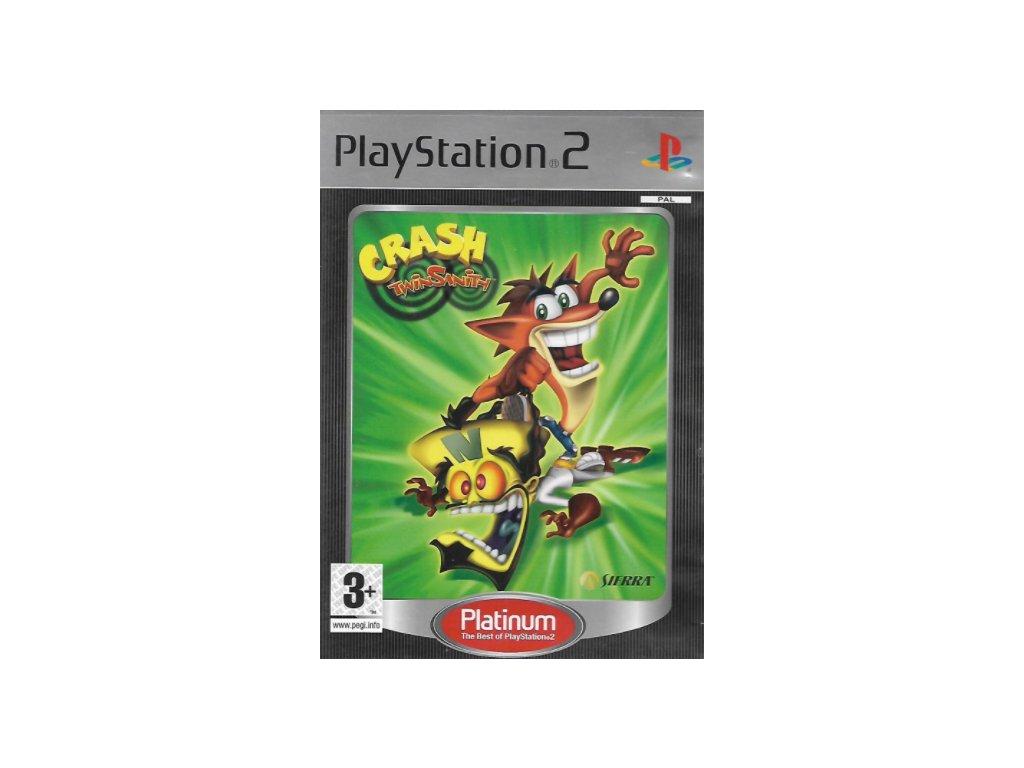 PS2 Crash Twinsanity Platinum Nové