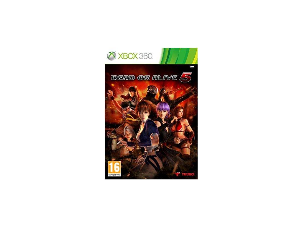 X360 Dead or Alive 5