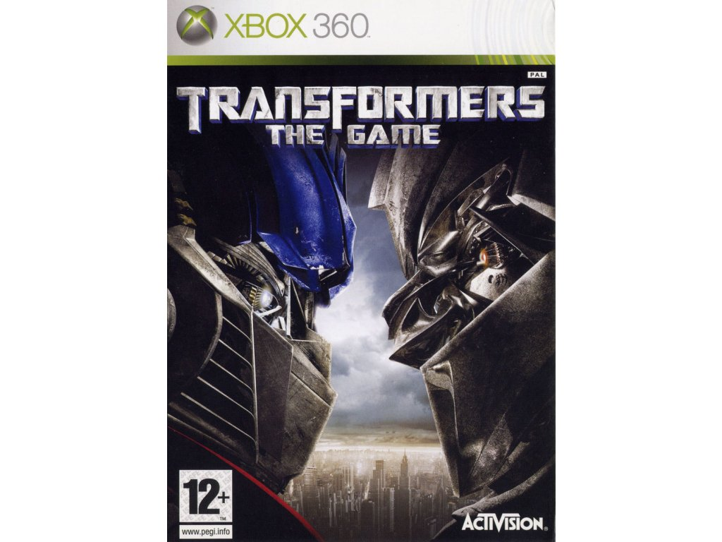 122915 transformers the game xbox 360 front cover