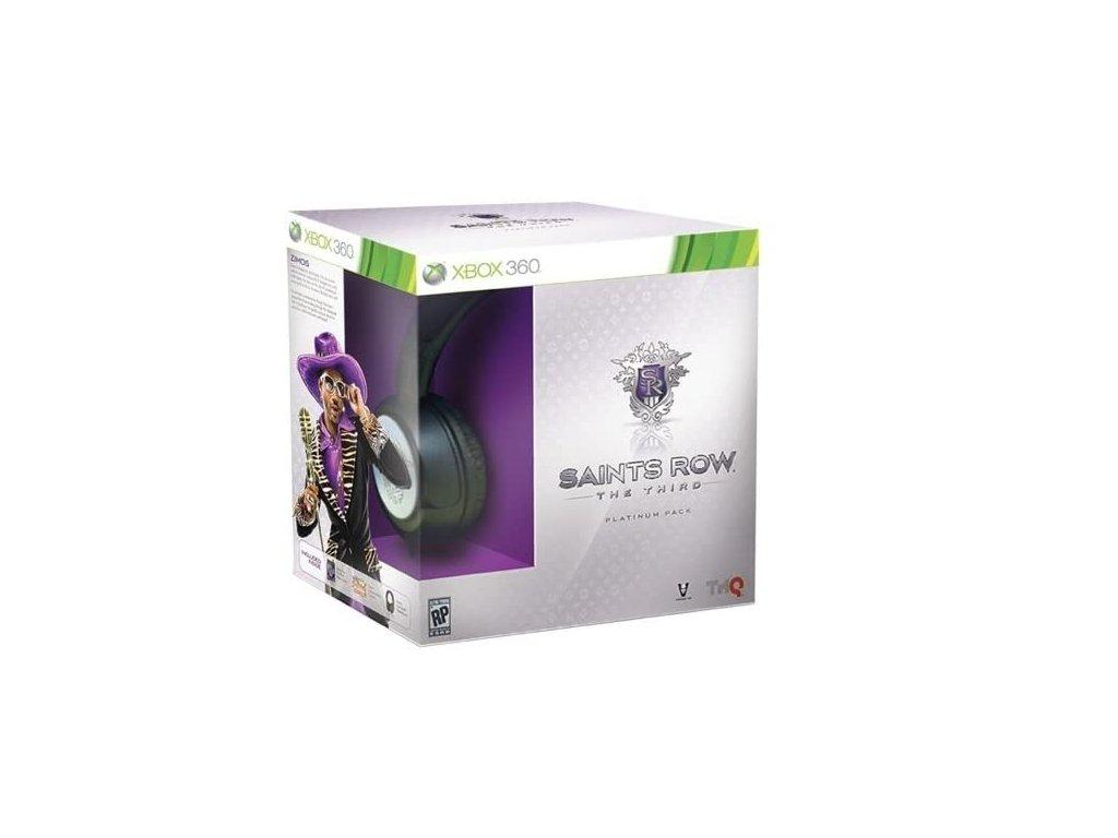 X360 Saints Row The Third Collector Edition