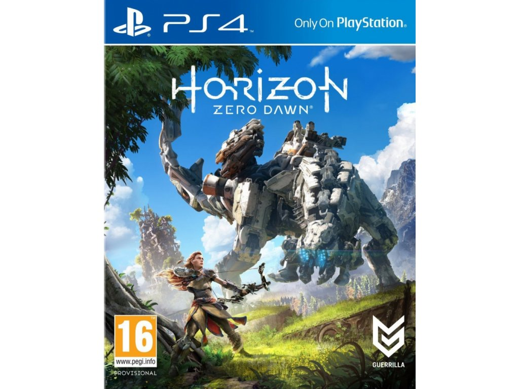 PS4 Horizon Zero Dawn - jen hra
