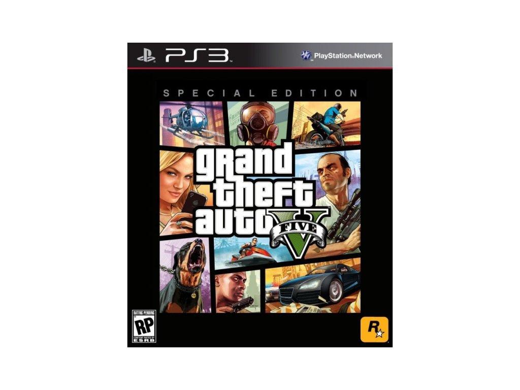 PS3 Grand Theft Auto V Special Edition Steelbook (GTA V)
