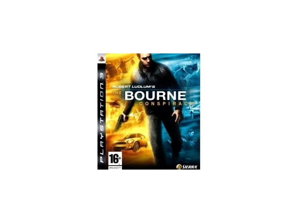 PS3 Robert Ludlums The Bourne Conspiracy