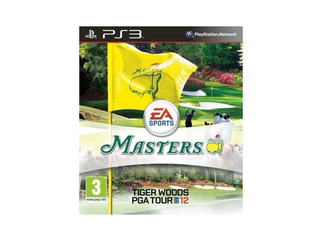 PS3 Tiger Woods PGA Tour 12