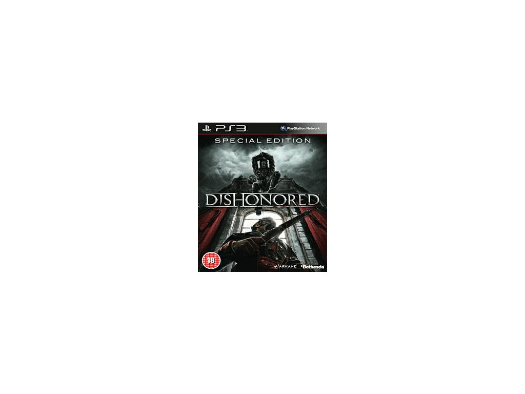 PS3 Dishonored Special Edition