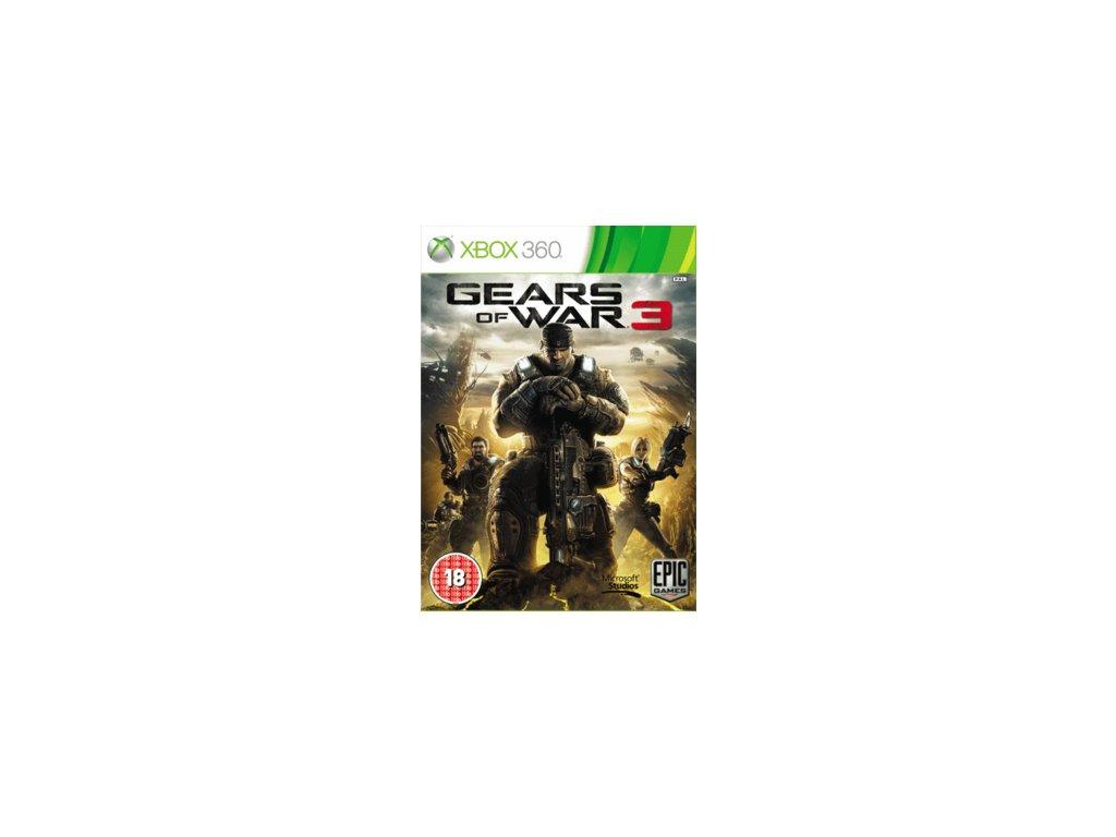 X360 Gears of War 3 CZ
