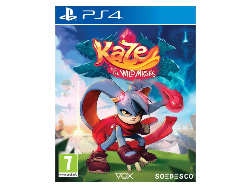 PS4 Kaze And The Wild Masks
