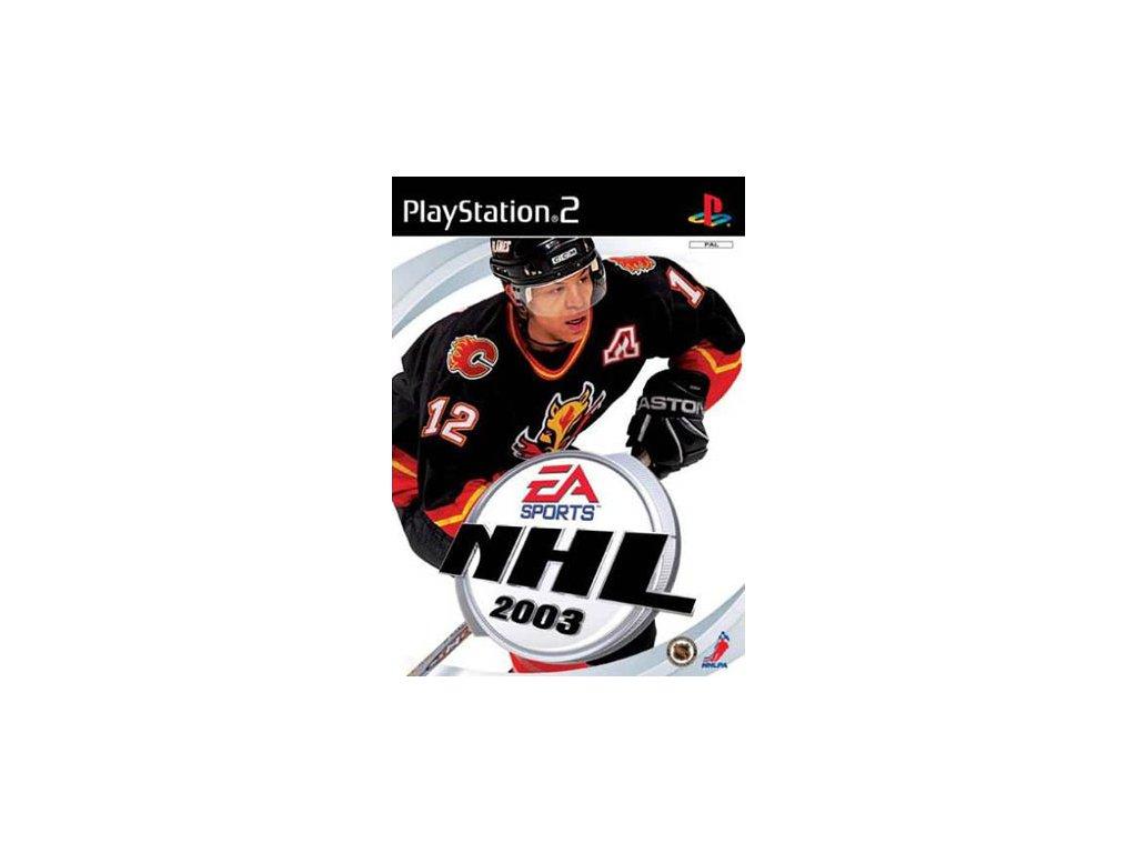 PS2 NHL 2003