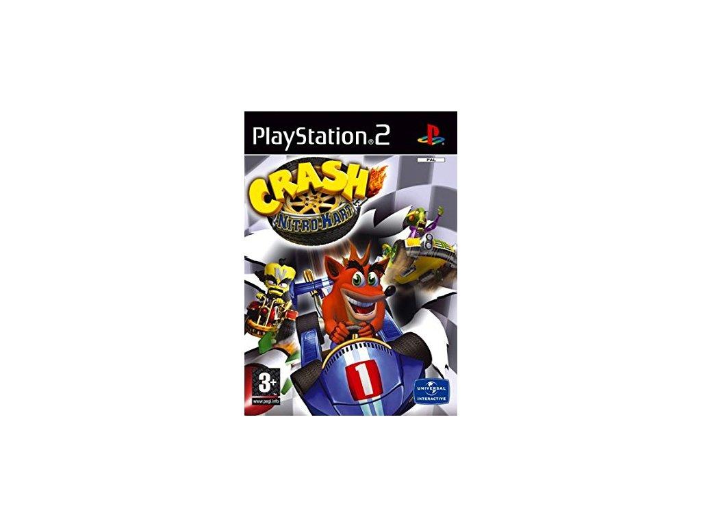 PS2 Crash Nitro Kart