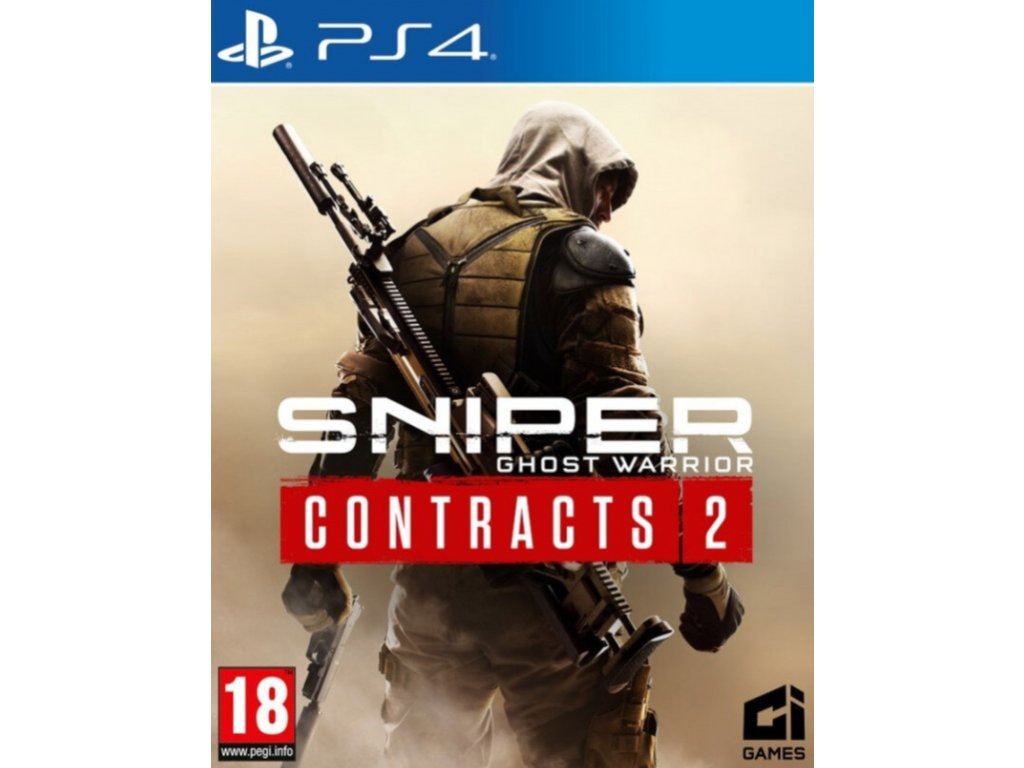 PS4 Sniper Ghost Warrior Contracts 2 CZ