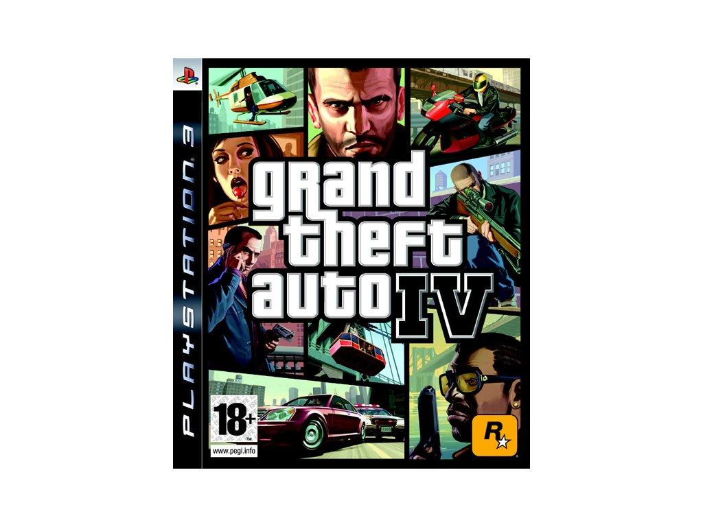 PS3 Grand Theft Auto IV (GTA 4)