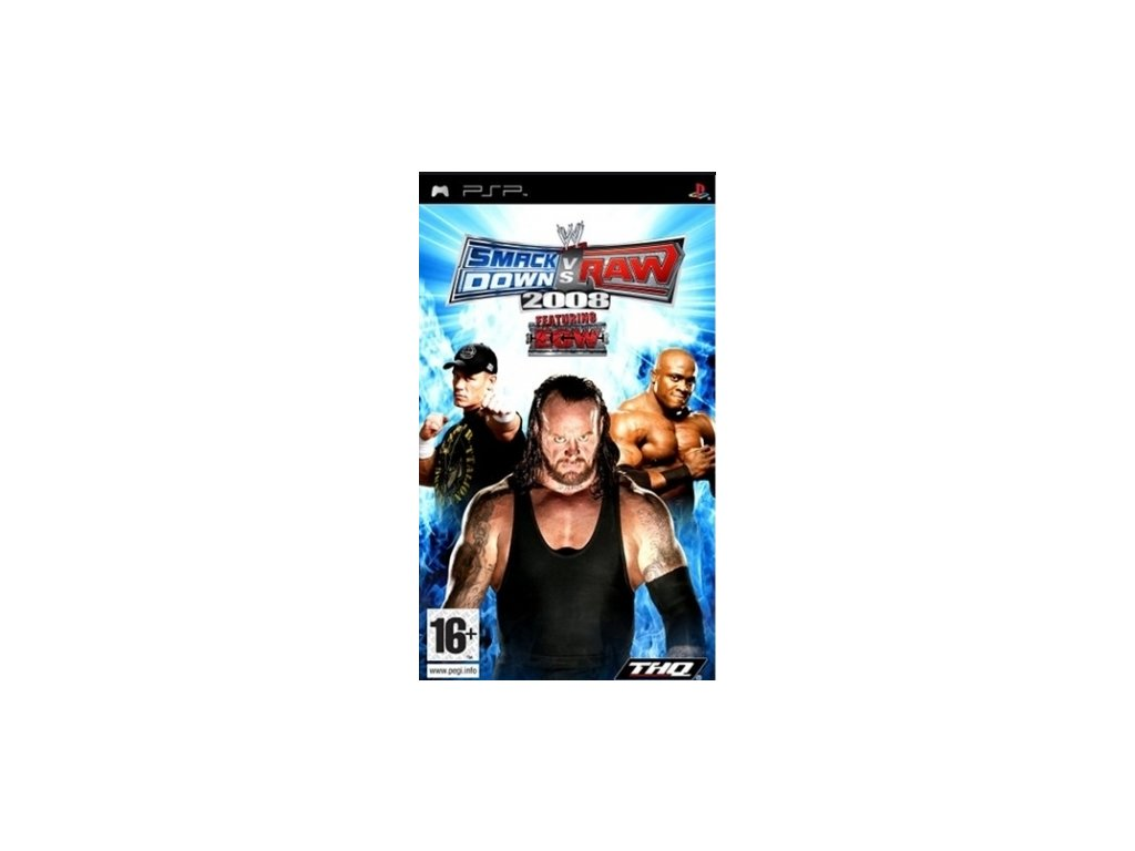 PSP WWE Smackdown vs Raw 2008