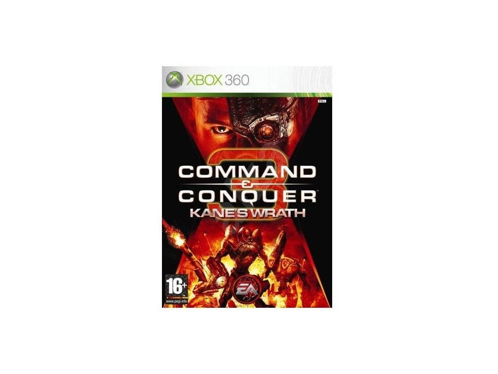 X360 Command and Conquer 3 Kanes Wrath