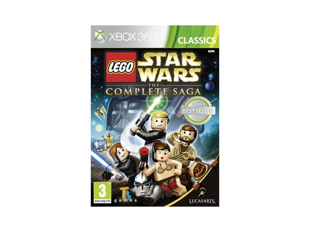 xbox 360 Star Wars Complete saga lego