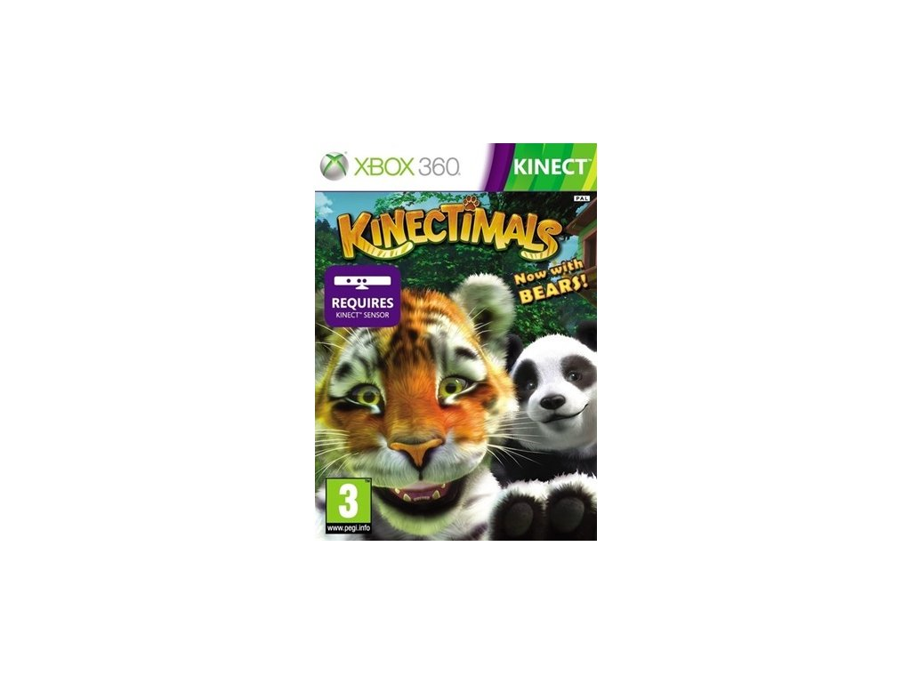 X360 Kinectimals Now with Bears!