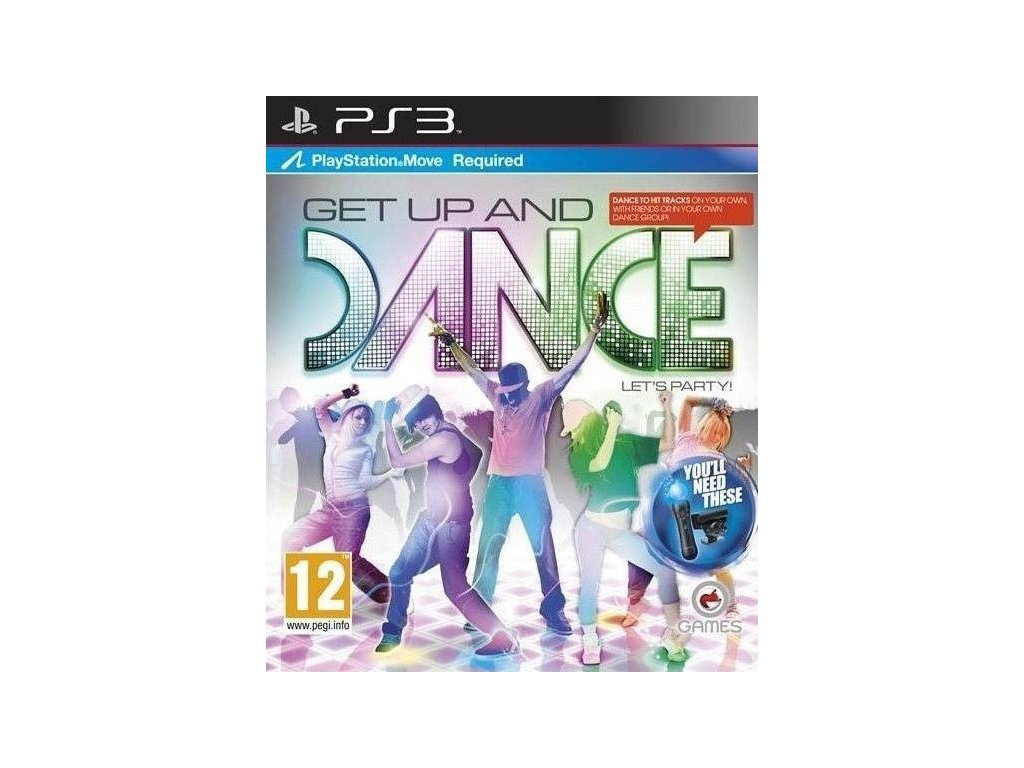 PS3 Get up and Dance