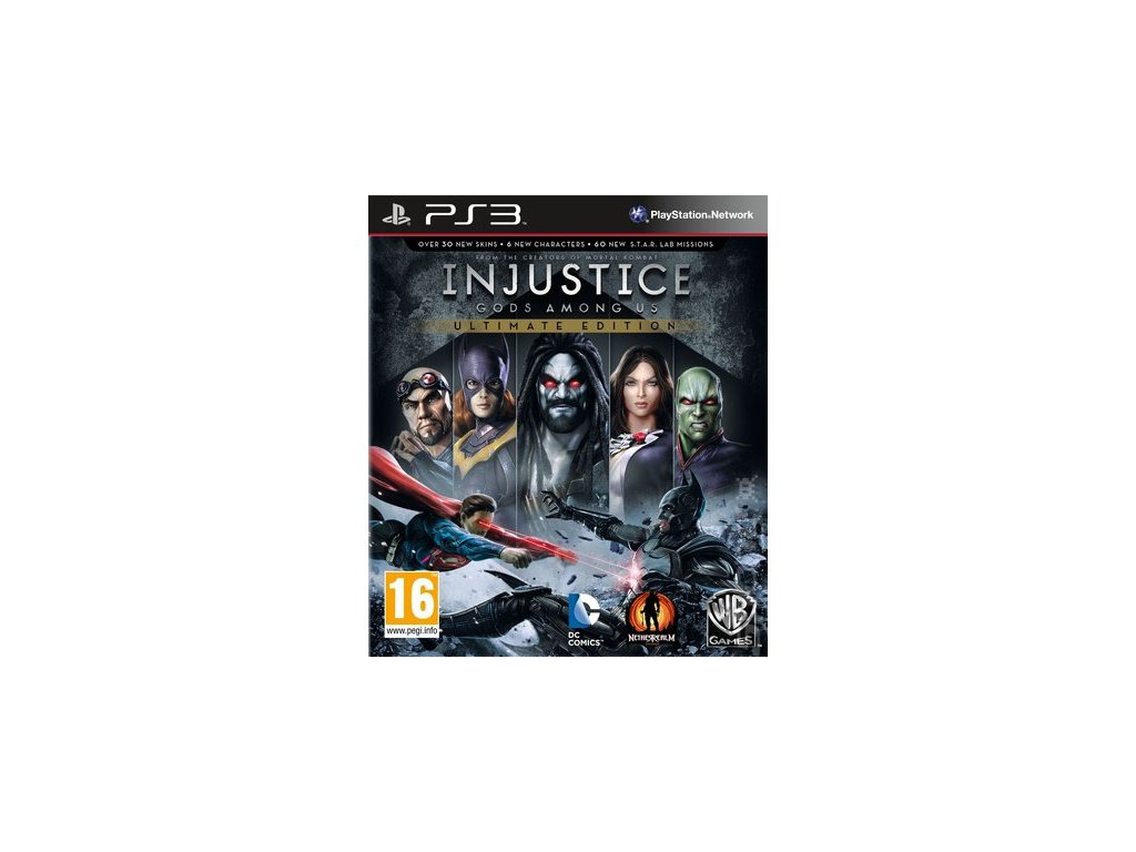 PS3 Injustice Gods Among Us Ultimate Edition